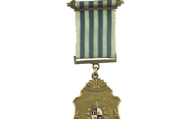 Minister's medal of the Oriental Republic of Uruguay