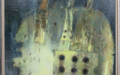SEA LIGHTS (SOLO), A MIXED MEDIA BY TOM MCKENDRICK