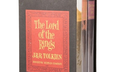 """Second American Edition """"The Lord of the Rings"""" by J. R. R. Tolkien Box Set"""