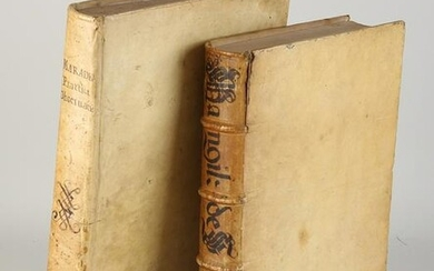 Two antiquarian books