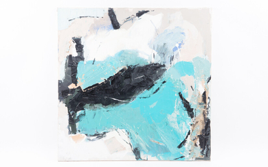 Unknown artist, painting, abstract composition, 2008.