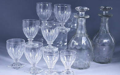 A Cut Glass Part Table Service, Mid 20th Century,...