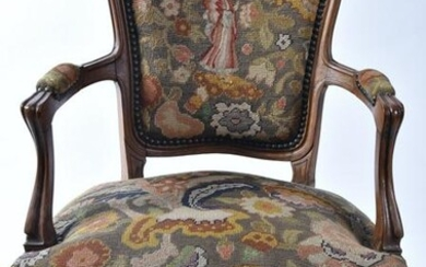 A French Louis IV Style Armchair