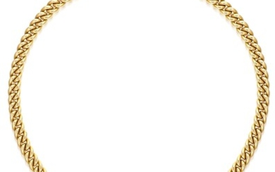Bulgari, A Gold, Ruby and Diamond Necklace