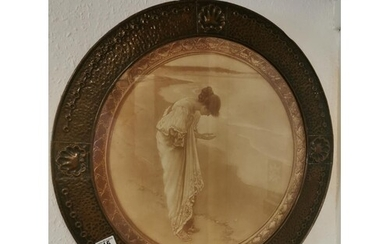 Early Vintage Reproduction of Margetson's 'The Sea Hath it P...