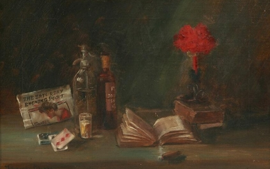 Florence Markey, Still life with flowers
