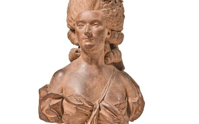French, probably 18th century, Bust of a lady, possibly Madame du Barry, French, probably 18th century, Bust of a lady, possibly Madame du Barry