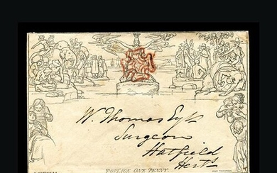 Great Britain - QV (Mulreadys) : 1840 RARE EARLY MAY DATE 1d...