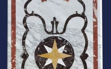 Inlaid top - Marble - 21st century
