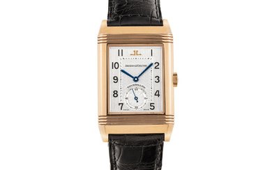 JAEGER-LECOULTRE, LIMITED EDITION, PINK GOLD REVERSO TOURBILLON, NO. 088/500