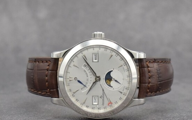 Jaeger-LeCoultre gents wristwatch Master Calendar reference 147.8.41.S, self...