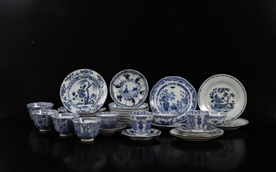 Large lot, mainly 19th century Chinese porcelain with
