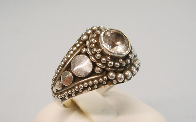 MOUNTAIN CRYSTAL RING SILVER 925.