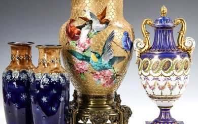NINETEENTH CENTURY EUROPEAN POTTERY AND PORCELAIN