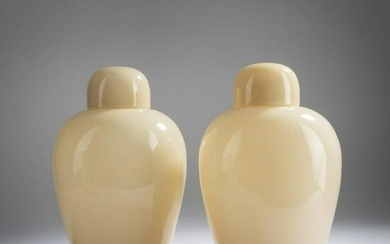 Paolo Venini, Two 'Cinese' vases, 1960s