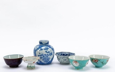 SIX PIECES OF ASSORTED CHINESE PORCELAIN