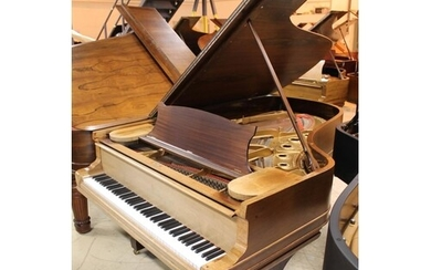 Steinway (c1887) A 6ft 11in 'old style' 85-note Model B gran...