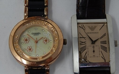 Two Watches to include a Gentleman's Armani Wristwatch & a L...