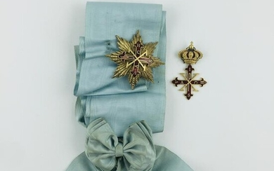 Venera with ribbon and decoration plate
