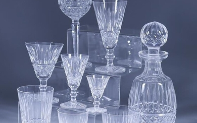 """A Waterford Glass """"Maeve"""" Pattern Part Table Service, 20th..."""