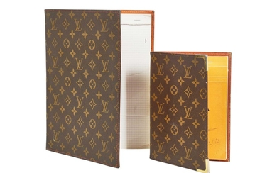 A group of Louis Vuitton small, monogrammed leather accessories, 1970s-1990s