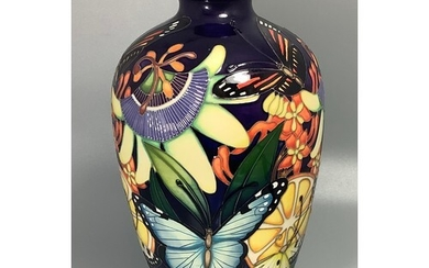 A large Moorcroft Collector's Club vase of ovoid form decora...