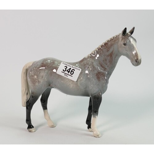 Beswick Grey Roan Hunter H260: limited edition, boxed.