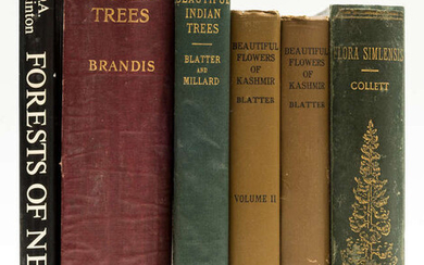Botany.- Collett (Col. Sir Henry) Flora Similensis..., first edition, Calcutta & Simla, 1902 & others, trees and flowers of India (6)