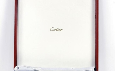 Cartier silver plated presentation dish