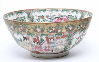 Chinese Qing Marked Famille Rose Porcelain Bowl