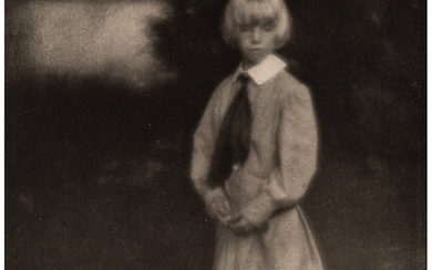 Clarence Hudson White (1871-1925), Portrait, Master Tom (from Camera Work, No. 23) (1908)