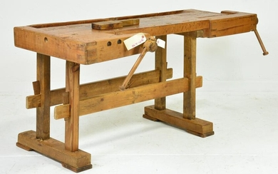 European Workbench With Vice #3
