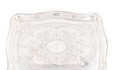 IMPERIAL AUSTRO-HUNGARIAN NAVAL SILVERPLATE SALVER