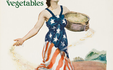 JAMES MONTGOMERY FLAGG (1870 1960) SOW THE SEEDS OF VICTORY