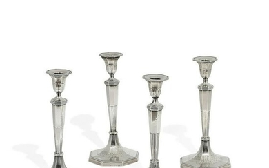 Maker Unknown George IV set of candlesticks, four