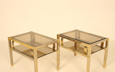 Pair of side tables from the 1960s / 70s.