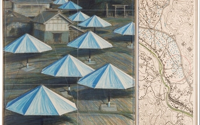 The Umbrellas (Joint Project for Japan and USA), Christo