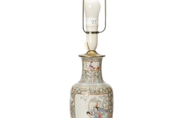NOT SOLD. A Chinese porcelain vase. Marked Hongxian, 20th century. H. excl. mounting 29 cm. – Bruun Rasmussen Auctioneers of Fine Art