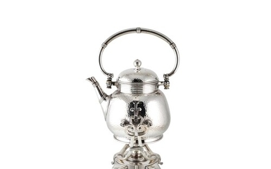 AN EARLY 20TH CENTURY CHRISTOFLE (PARIS) LARGE SILVER PLATED...