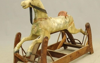 Early Child's Rocking Horse