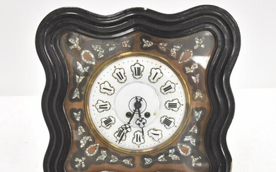 FRENCH MOTHER OF PEARL BAKERS CLOCK