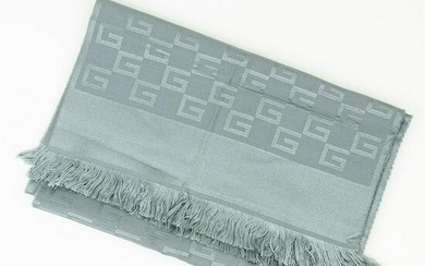 GUCCI Unisex scarf in wool and silk