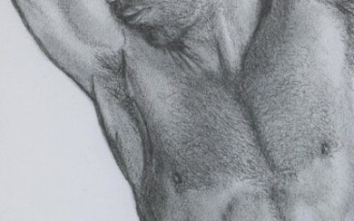 Kevin Ford Figurative Giclée of Male Nude