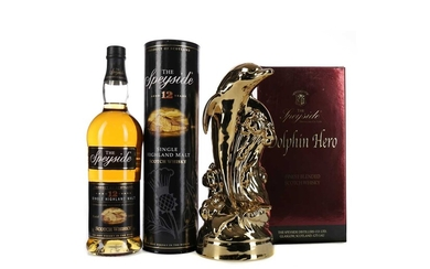 THE SPEYSIDE DOLPHIN HERO BLEND AND SPEYSIDE AGED 12 YEARS