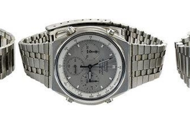 Three Stainless Steel Watches