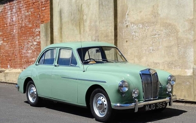 1957 MG Magnette ZB Highly credible 51,000 recorded miles