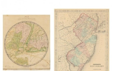 19th Century Maps of the New York City Area and the