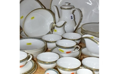 A FORTY SEVEN PIECE ROYAL DOULTON ATHENS H4987 DINNER SERVIC...