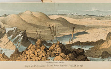 Botany.- Hooker (Joseph Dalton) Himalayan Journals; or, Notes of a Naturalist in Bengal, the Sikkim and Nepal Himalayas..., 2 vol., first edition, 1854.