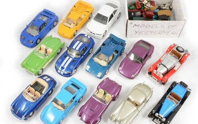 Burago and Matchbox Models of Yesteryear.